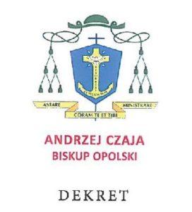 Dekret Biskupa Opolskiego z dnia 24 marca 2020 r.
